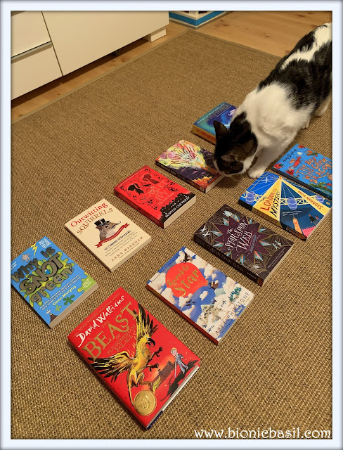 Feline Fiction on Fridays #123 ©BionicBasil®  Melvyn's Top 10 Picks For Wurld Book Day 2020