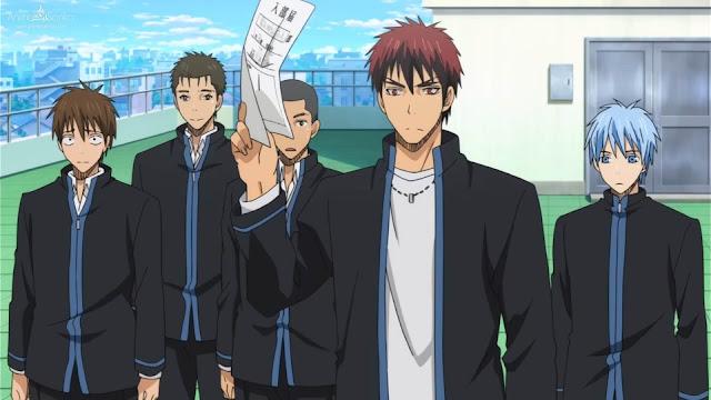 جميع حلقات انمى Kuroko no Basket الموسم الأول بلوراي BluRay مترجم أونلاين كامل تحميل و مشاهدة