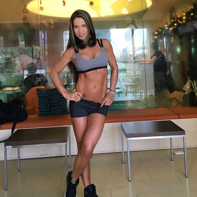 Fitness Model Marcela Rivas 1