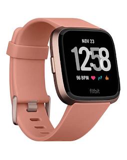 Fitbit Versa Peach/Rose-Gold Aluminium