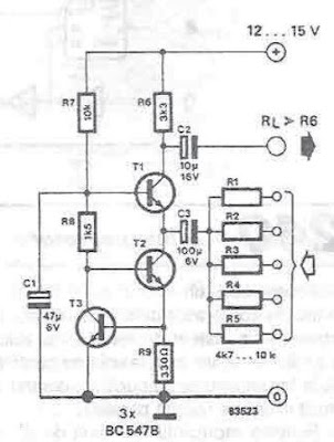 Very Simple Audio Mixer Cir cuit Circuits