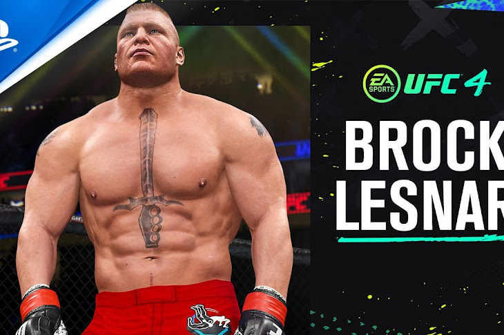 Brock Lesnar Is A Playable Character On UFC 4
