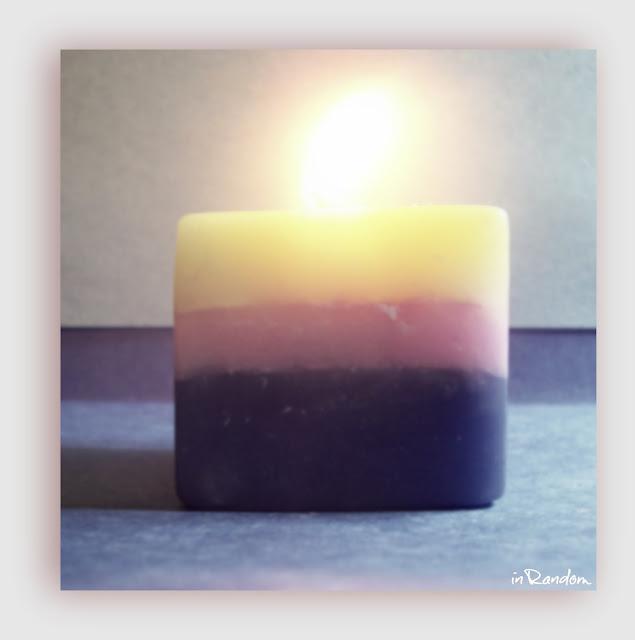 Illuminating Handmade Candle