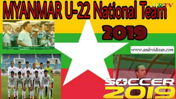 Dream League 2019 MOD (Myanmar U-22)