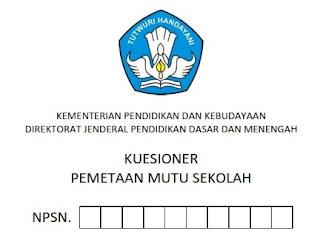 Formulir Kuesioner PMP SD, SMP, SMA dan SMK