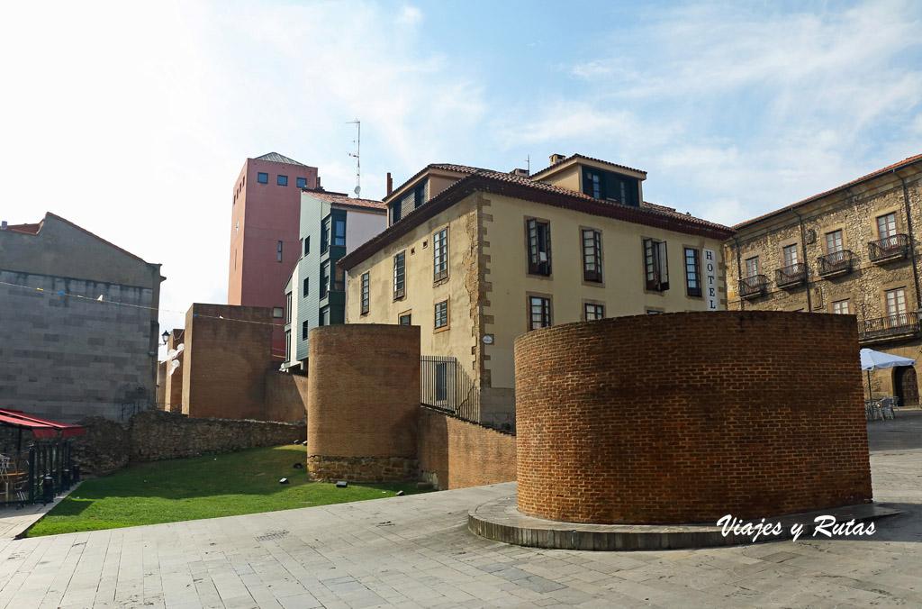 Muralla romana de Gigia, Gijón