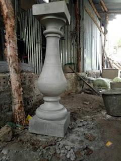 Ornament Pagar Botol Klasik