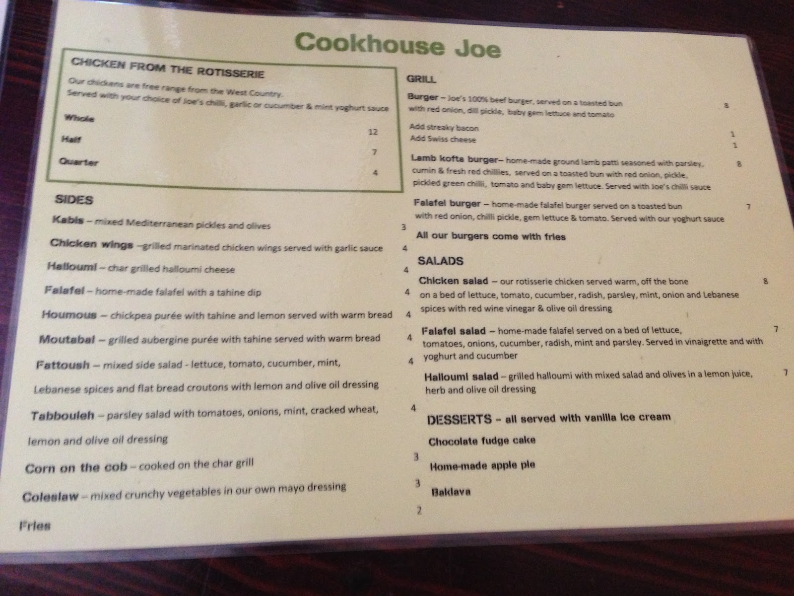 Cheese and Biscuits: Cookhouse Joe, Soho