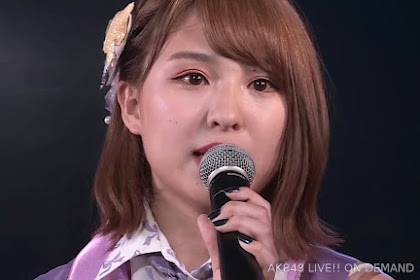 AKB48 'Sono Shizuku wa' 190420 84 LIVE 1800 (Yamada Nanami Graduation Announcement)