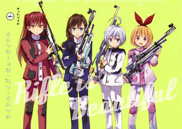 Rifle Is Beautiful Batch (1-12 Episode) Subtitle Indonesia