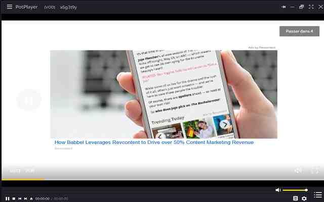 تنزيل برنامج تشغيل الصوت والفيديو بجودة عالية الدقة PotPlayer Beta مجانا
