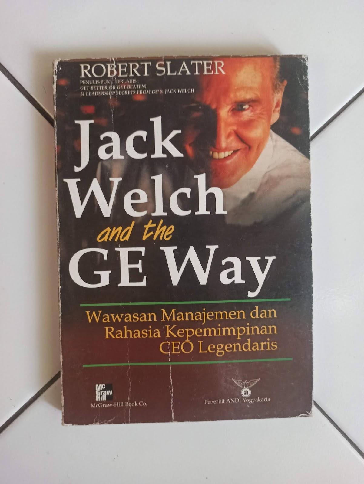 Buku Bekas Jack Welch And The GE Way