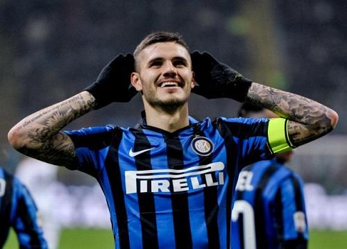 Cầu thủ Mauro Icardi tỏa sáng, Inter Milan đại thắng trước Sassuolo