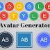 Google Style Avatar generator