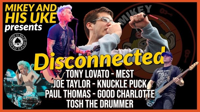 """Mikey And His Uke covers Face To Face's """"Disconnected"""""""