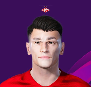 PES 2020 Faces Ezequiel Ponce by Korneev