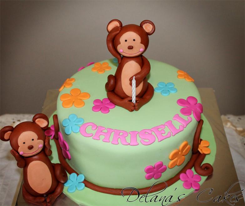 Delana S Cakes Cheeky Monkey Cake