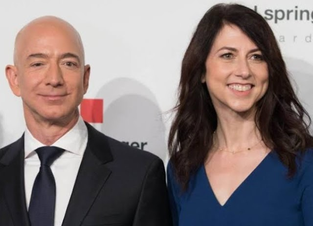 Jeff Bezos | Divorce settlement in $38 Billion
