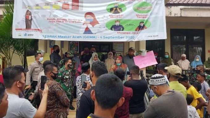 Nyatakan Pasien Meninggal Terpapar Covid-19, Oknum Puskesmas Birem Bayeun di Demo Warga Gampong