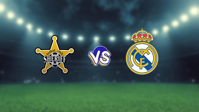 نتيجة مباراة ريال مدريد وشيريف اليوم الثلاثاء في دوري أبطال أوروبا