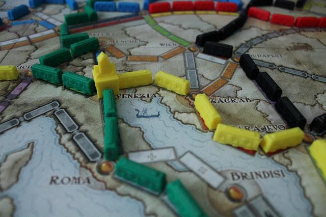 Wsiąść do Pociągu: Europa - recenzja gry