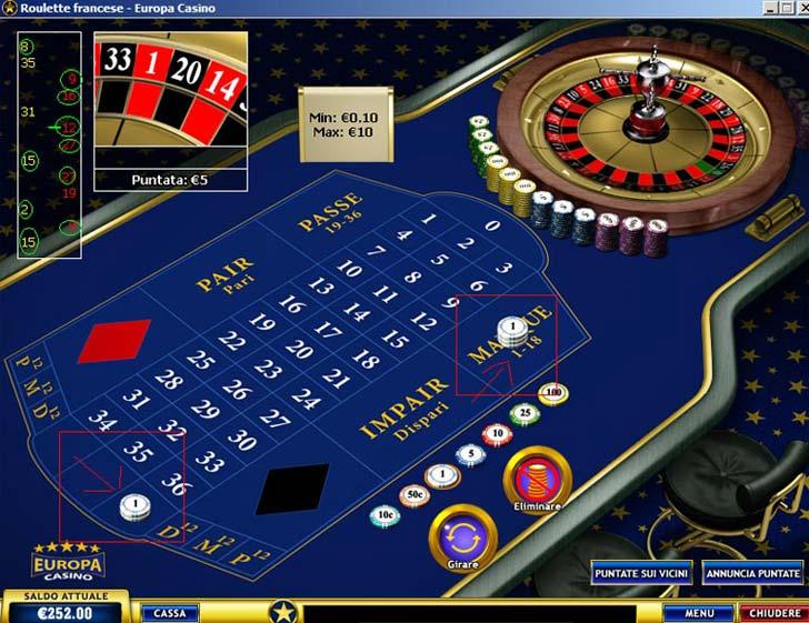 Come indovinare numeri roulette