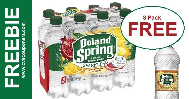 FREE Poland Spring Sparkling Water!
