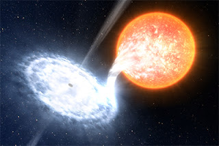 star to pass near black hole