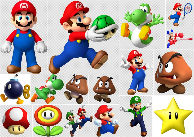 Super Mario Bros Clip Art Oh My Fiesta For Geeks