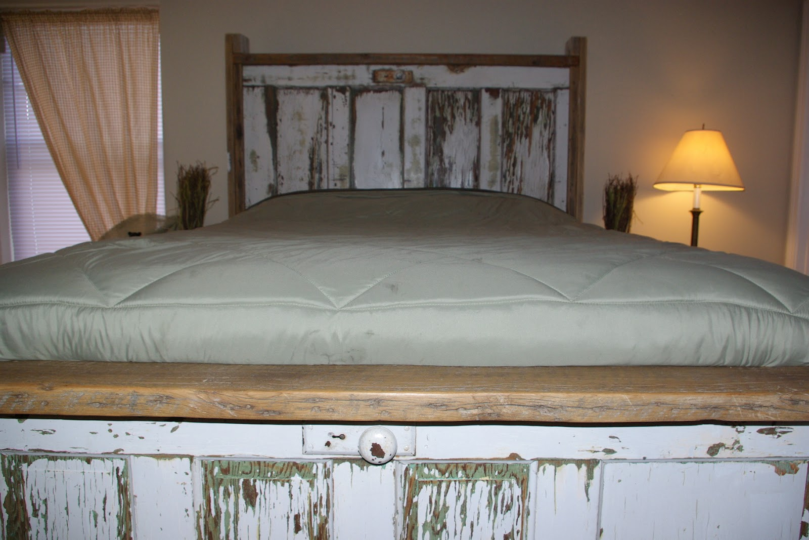 Vintage Bed Frame Rails