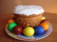 молитва на освящение куличей и яиц