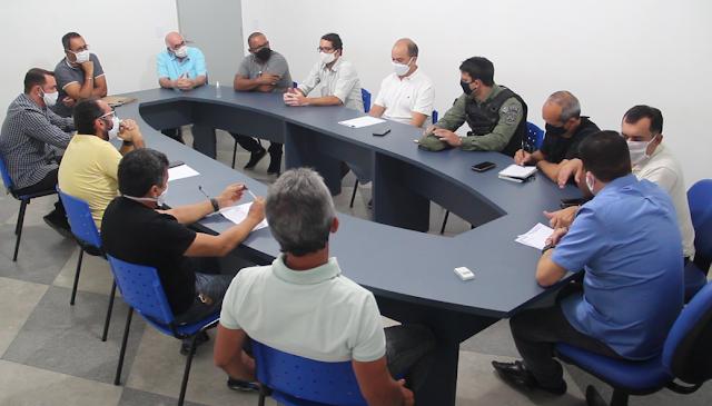 Reunião define mudanças nas regras e novas estratégias para entrega de mercadorias à transportadoras