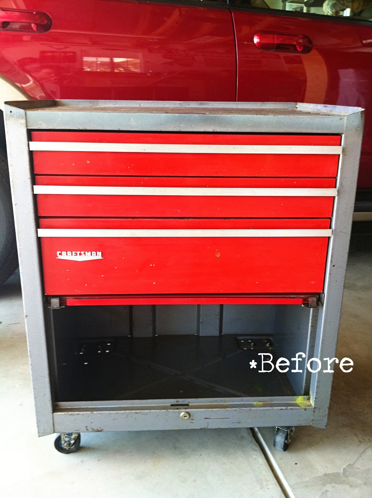 25 Best Ideas About Tool Box Dresser On Pinterest: Frankly Speaking Too: Upcycled (Refurbished) Bottom Box