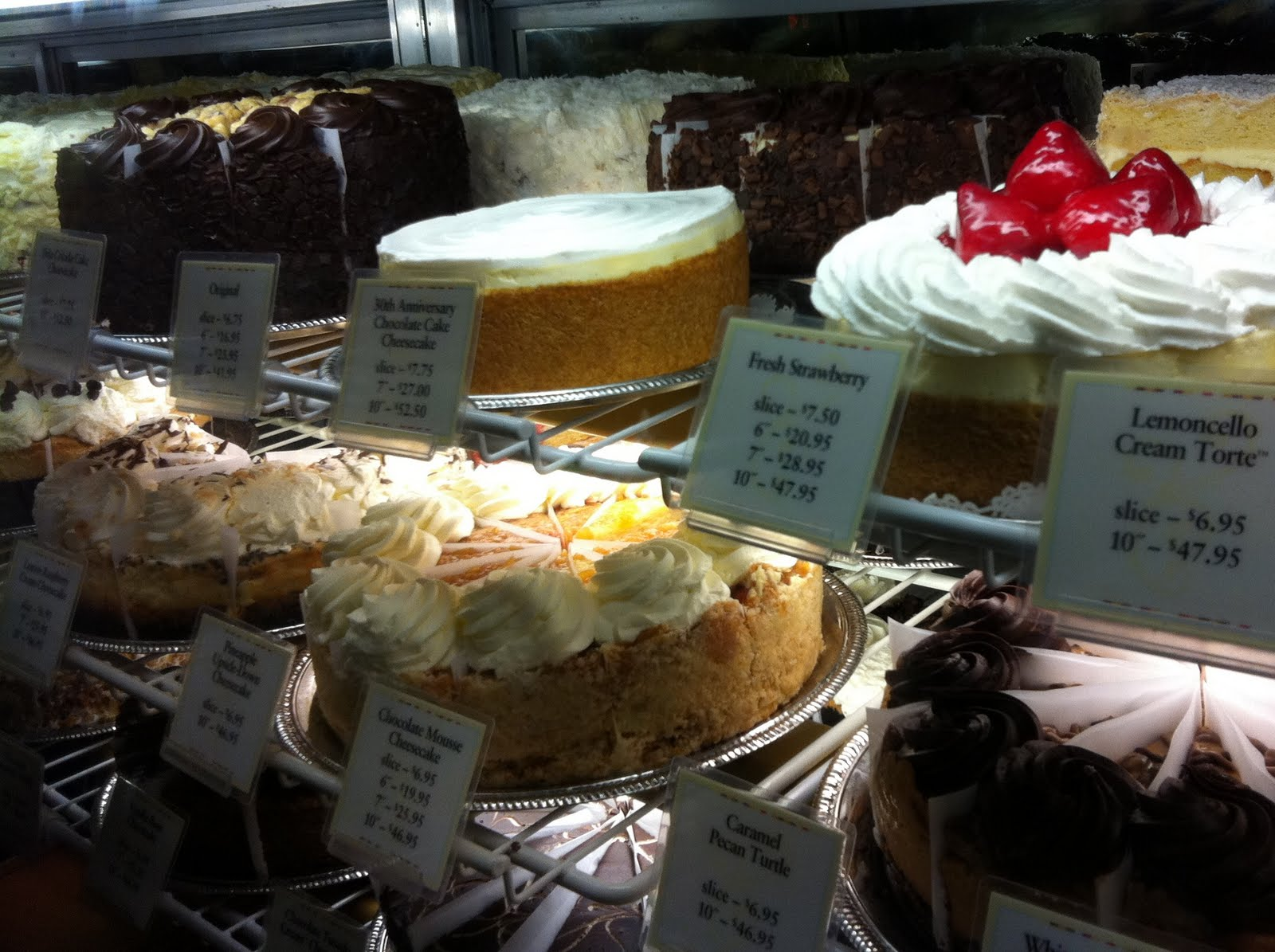 The Cheesecake Factory- Why'd You Have To Tell Me The ...
