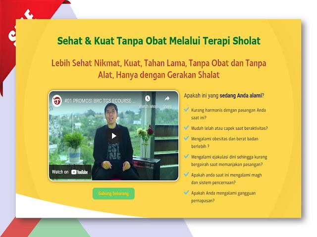 Pelatihan Terapi Gerakan Sholat untuk Kesehatan Alat Vital di Malang