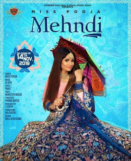 Mehndi - Miss Pooja Song Lyrics Mp3 Audio & Video Download