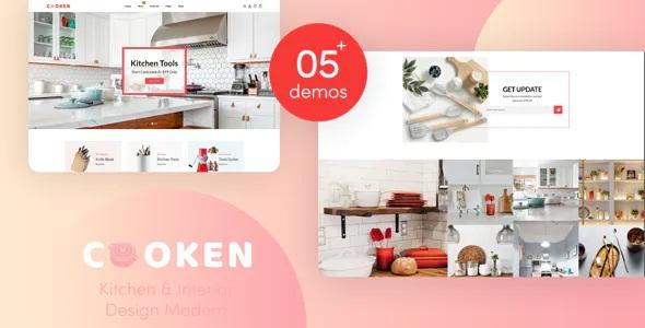 Kitchen and Interior Design Modern Shopify Theme