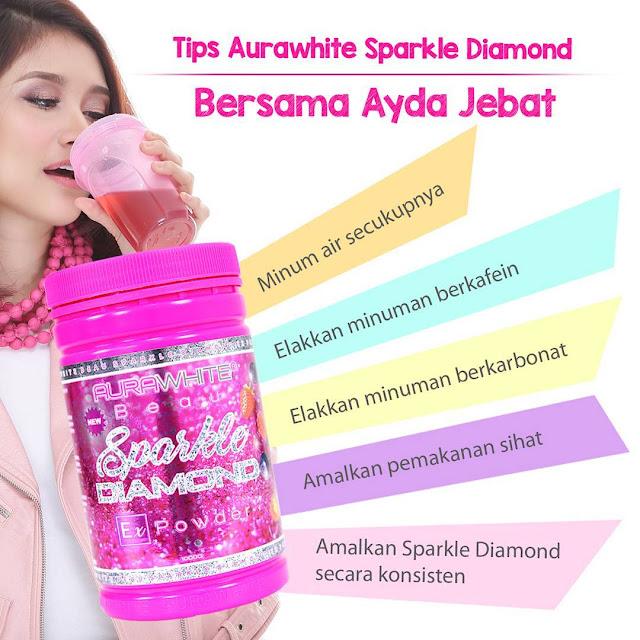 Aurawhite Sparkle Diamond Ex Powder