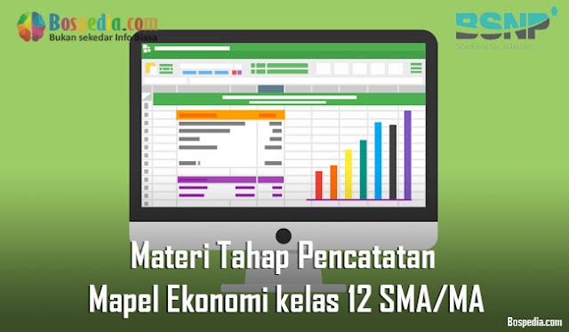 Materi Tahap Pencatatan Mapel Ekonomi kelas 12 SMA/MA