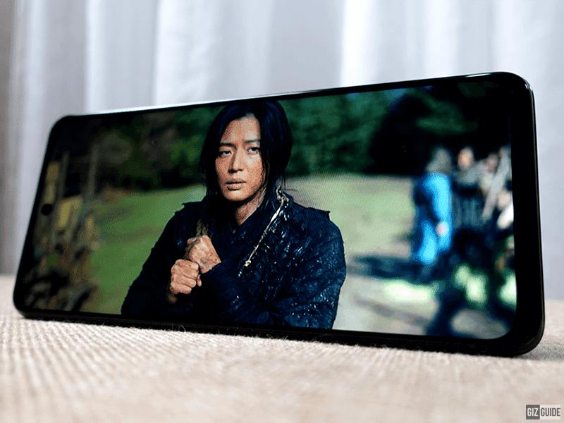 POCO X3 GT's screen