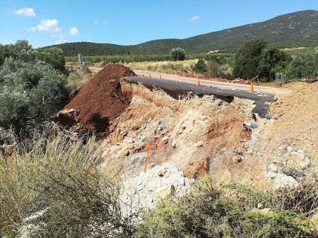 Μαλτέζος: Προς υλοποίηση η αποκατάσταση του δρόμου Βελανιδιάς-Ανδρίτσας στην Αργολίδα