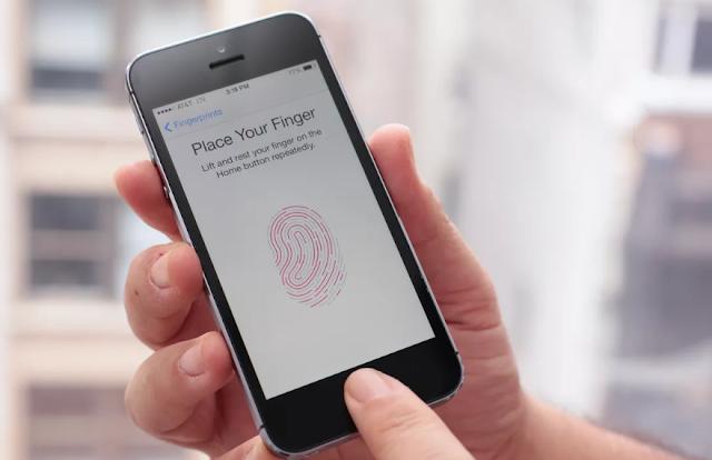 pemindai sidik jari di iphone 5s Apple