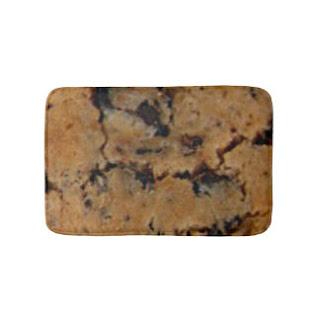 Chocolate chip cookie bath mat
