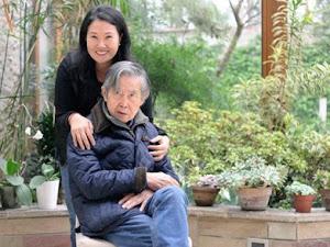 Keiko Fujimori indultará a su padre en caso de ser presidenta de la República