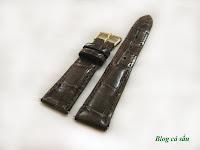 dây đồng hồ da cá sấu 29