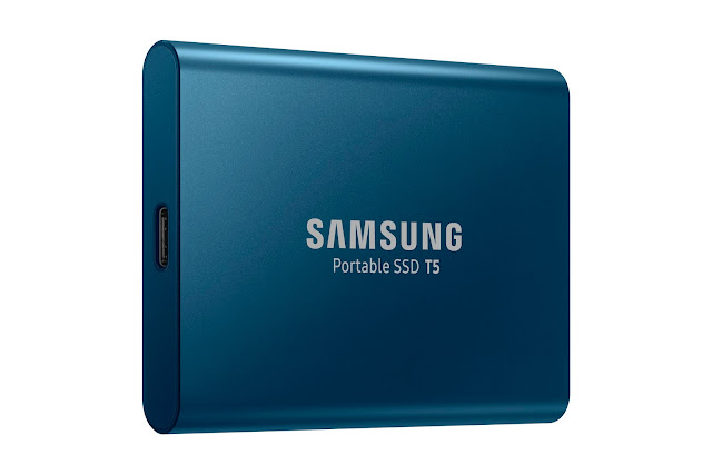 Samsung T5 Portable SSD With up to 540MBps transfer speed