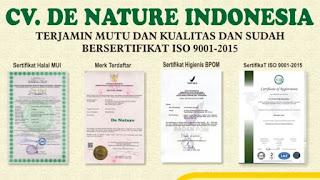 Rekening Resmi Agen De Nature Indonesia Dijamin Asli