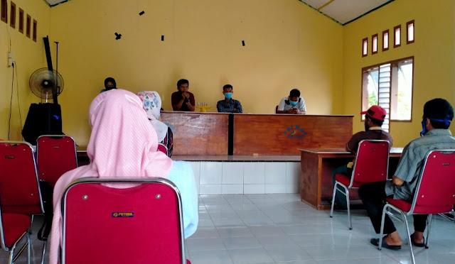 Jelang Pilkada Selayar 2020, PPS Desa Kahu-Kahu Gelar Sosialisasi Pemuktahiran Data Pemilih