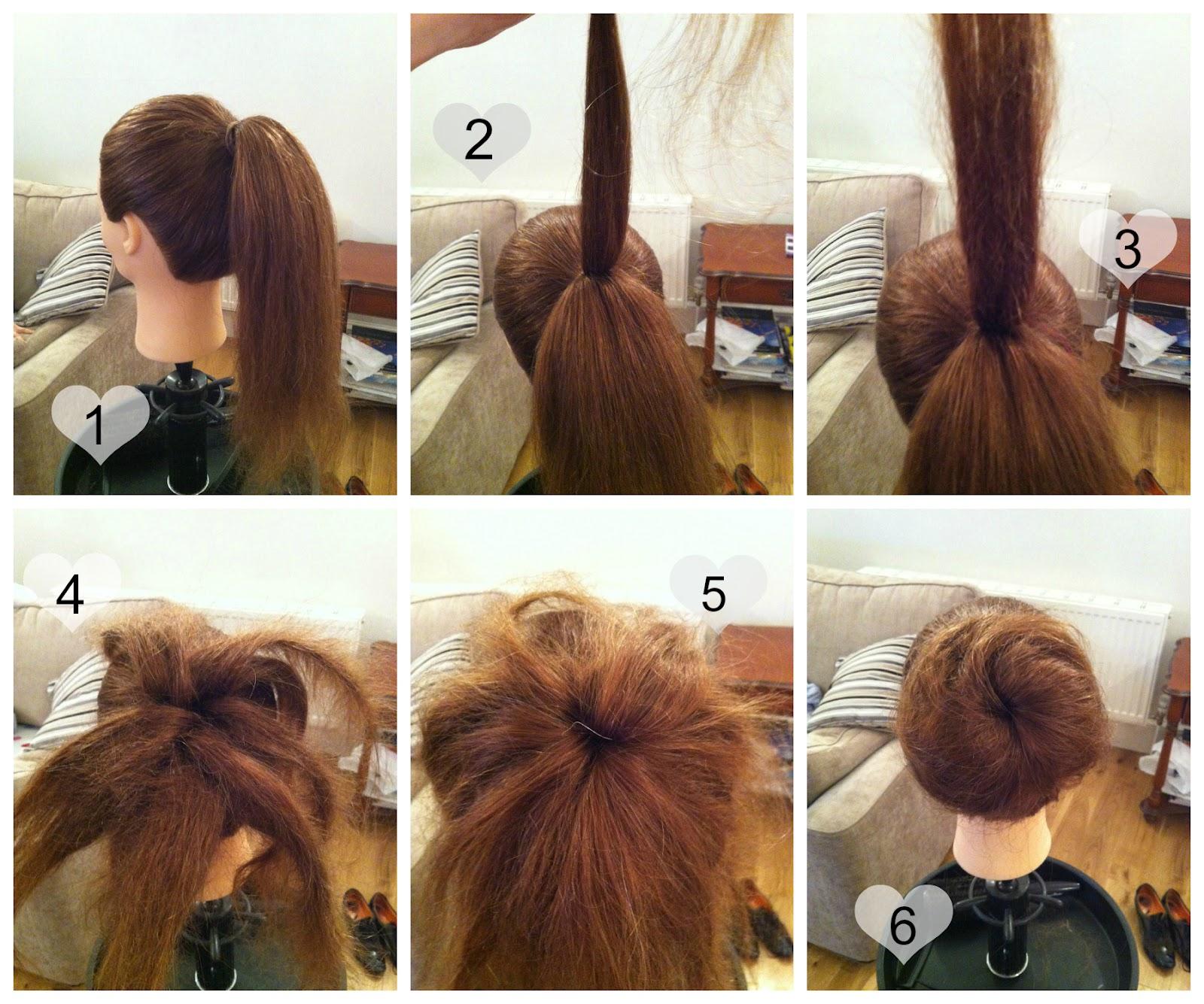 Fantastic Makeup Etc Easy Updo Tutorial Casual Bun Short Hairstyles For Black Women Fulllsitofus