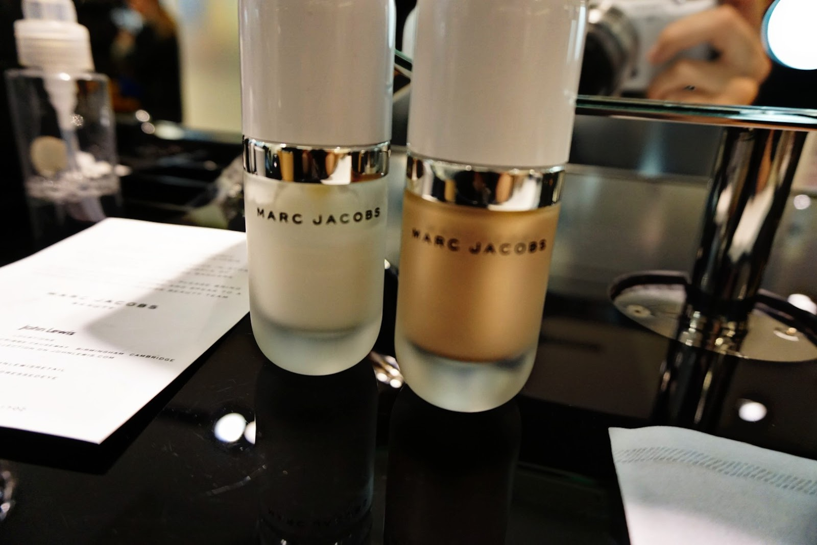 EXCLUSIVE MARC JACOBS BEAUTY MAKEOVER AT JOHN LEWIS COURTESY OF INFLUENSTER UK